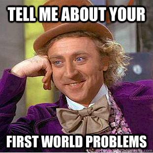 1st World Probs